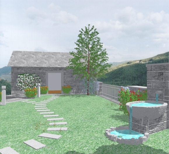 Rocce In Giardino.Un Giardino Tra Le Rocce Arte Giardini
