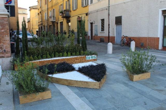 giardino espositivo in collaborazione con Eco Verde.