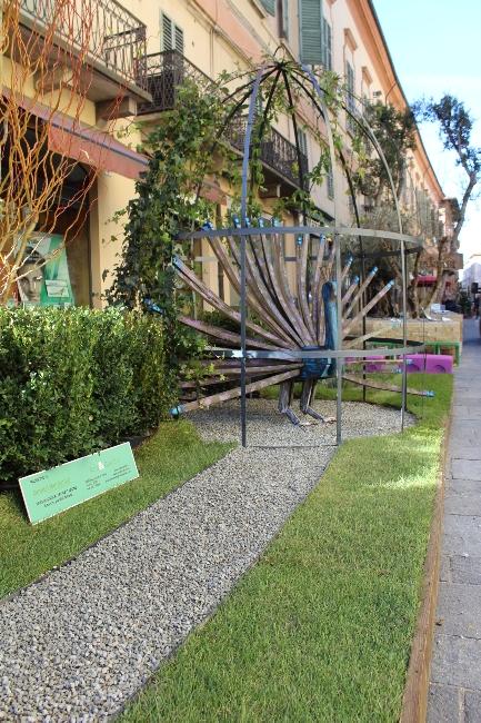 giardino espositivo in collaborazione con Istituto Professionale Statale Agricoltura e Ambiente + Agrotecnici di Ravenna